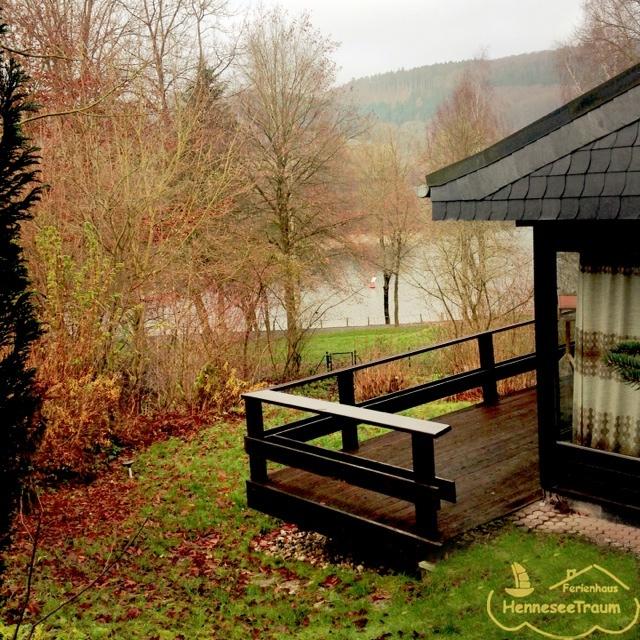 Urlaub Mit Hund Eingezäunter Garten: Der Garten Im Ferienhaus HenneseeTraum